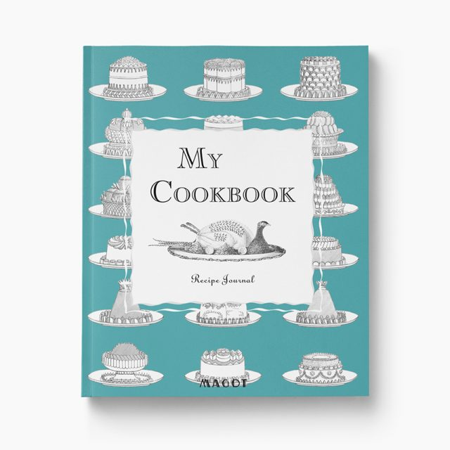 My Cookbook : A recipe Journal organized into sections by type of dish