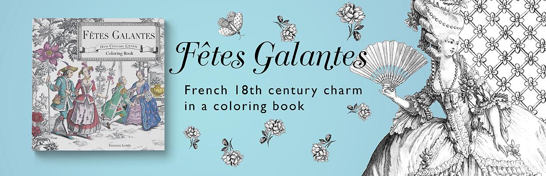 Fetes Galantes - Coloring Book - MAGOT