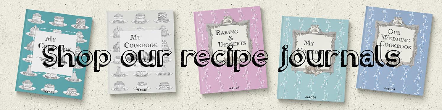 Shop MAGOT recipe journals - MAGOT books