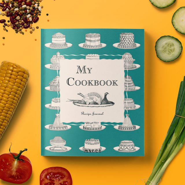 My Cookbook : Recipe Journal - Organized into sections by type of dish - by MAGOT Books
